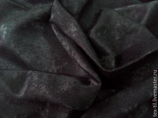 Ткань для штор черная