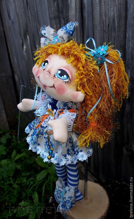 Текстильная интерьерная кукла,текстильная кукла,интерьерная кукла,кукла в подарок,текстиль