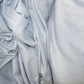 Материалы для творчества ручной работы. Ярмарка Мастеров - ручная работа Замша стрейч арт.8 ЗШ-5 голубой (Корея). Handmade.