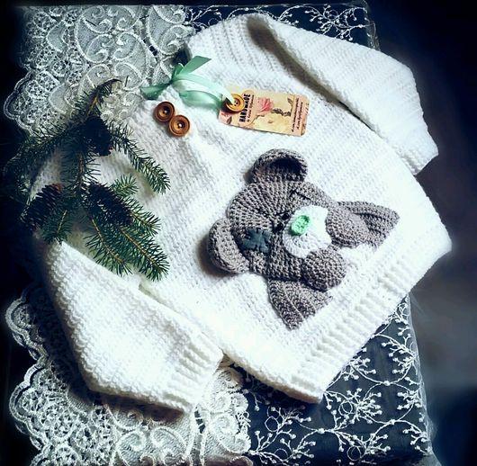 """Одежда унисекс ручной работы. Ярмарка Мастеров - ручная работа. Купить Свитер """"Тедди"""". Handmade. Свитер для девочки, красивый свитер"""