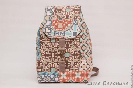 Рюкзаки ручной работы. Ярмарка Мастеров - ручная работа. Купить Городской рюкзак Византия рюкзак  к джинсам купить. Handmade. к джинсам