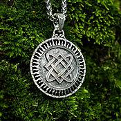 Украшения handmade. Livemaster - original item Pendant / Amulet Star of Lada - Tree of Genus of silver 925. Handmade.