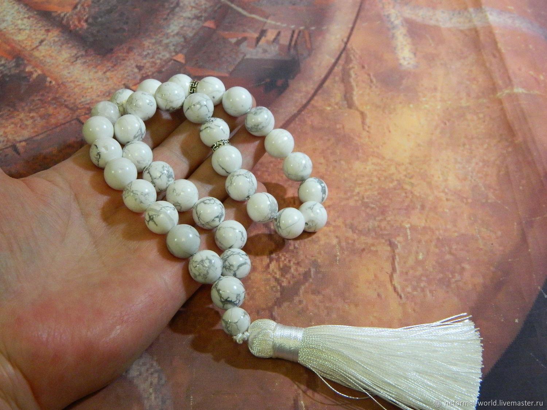 rosary: Bracelet-rosary of cacholong, Rosary, Saratov,  Фото №1