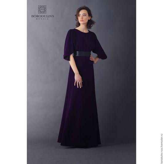 Платья ручной работы. Ярмарка Мастеров - ручная работа. Купить Платье П16-08 (Фиалка). Handmade. Тёмно-фиолетовый
