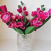 Цветы и флористика ручной работы. Ярмарка Мастеров - ручная работа Сладкие орхидеи. Handmade.