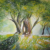 Картины и панно ручной работы. Ярмарка Мастеров - ручная работа Блики. Handmade.