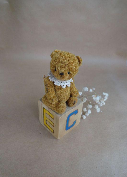 Мишки Тедди ручной работы. Ярмарка Мастеров - ручная работа. Купить Медок. Handmade. Мишка, миниатюра, мулине дмс (dms)