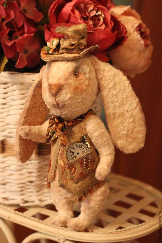 Мишки Тедди ручной работы. Ярмарка Мастеров - ручная работа. Купить Кролик Тим. Handmade. Кремовый, плюшевая игрушка