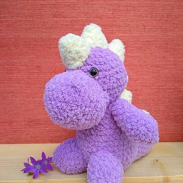 Куклы и игрушки ручной работы. Ярмарка Мастеров - ручная работа Динозаврик. Handmade.
