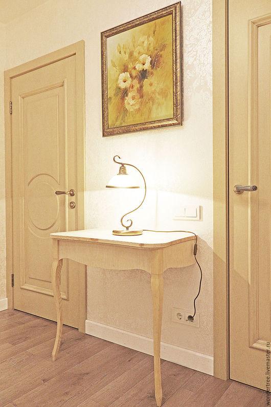 Мебель ручной работы. Ярмарка Мастеров - ручная работа. Купить Консоль Людовиг. Handmade. Бежевый, туалетный столик, прованс, винтаж