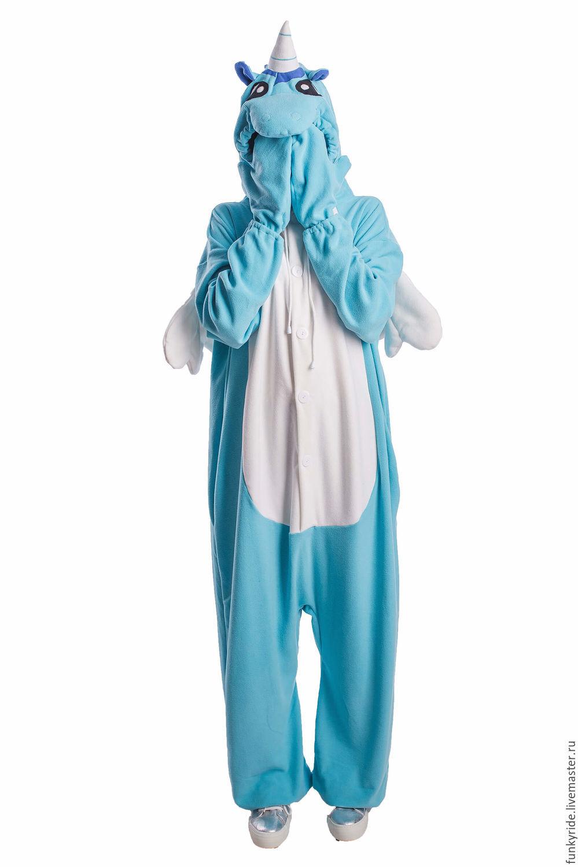 Unicorn Kigurumi - Custom Handmade - Anti-pill Fleece Pyjamas, Cosplay costumes, Magnitogorsk,  Фото №1