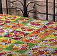 Одеяло для девочки `Цветочная поляна`