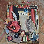 """Открытки ручной работы. Ярмарка Мастеров - ручная работа Открытка """"Мудрая сова"""". Handmade."""