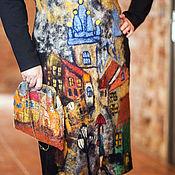 Одежда ручной работы. Ярмарка Мастеров - ручная работа Прага платье валяное, трикотажное. Handmade.