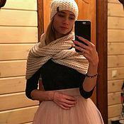Одежда ручной работы. Ярмарка Мастеров - ручная работа Юбка из еврофатина на молнии и резинке. Handmade.