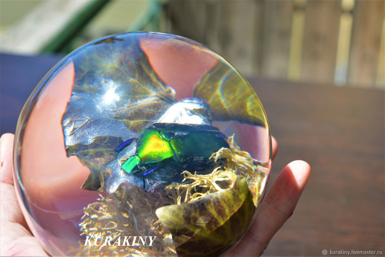 Glass sphere - Fly lesser bulb, Gifts for hunters and fishers, Anapa,  Фото №1