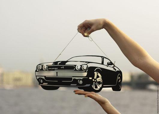 Детская ручной работы. Ярмарка Мастеров - ручная работа. Купить Dodge Challenger из дерева. Handmade. Черный, Декор, подарок