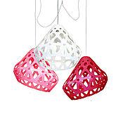 Для дома и интерьера handmade. Livemaster - original item Three-color chandelier ZAHA LIGHT 22. Handmade.