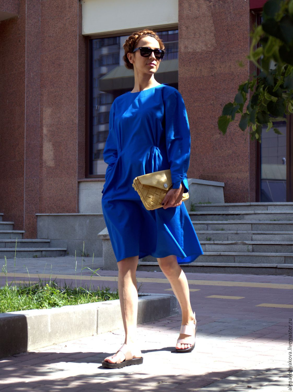 Синее платье, Платья, Екатеринбург, Фото №1
