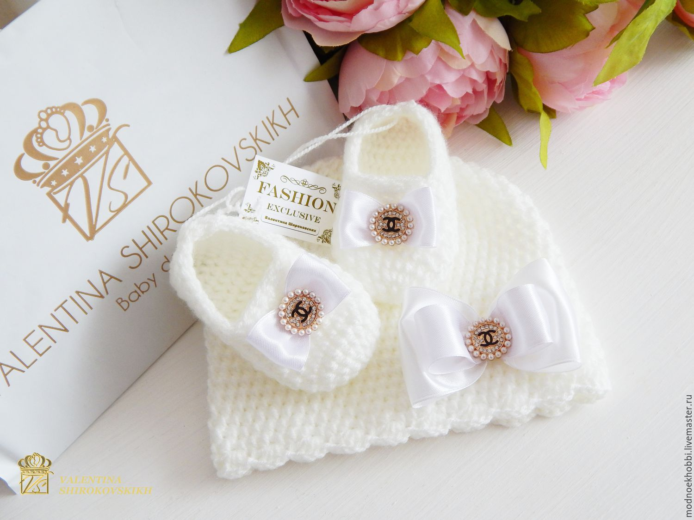 ed319dccb92e Buy   Chanel   set for newborn girl For Newborns handmade.   Chanel   set  for newborn girl. Valentina Shirokovskikh.
