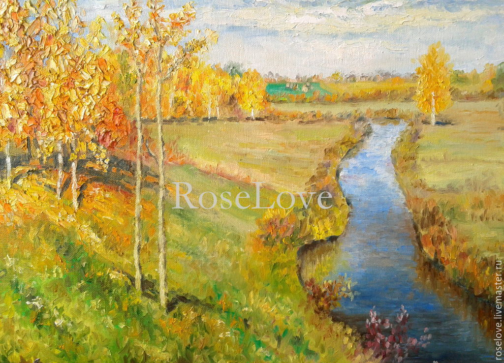 осень золотая пейзажи фото