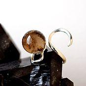 Украшения handmade. Livemaster - original item SMOKY QUARTZ (Torg. name. rauchtopaz). Ring. Handmade.