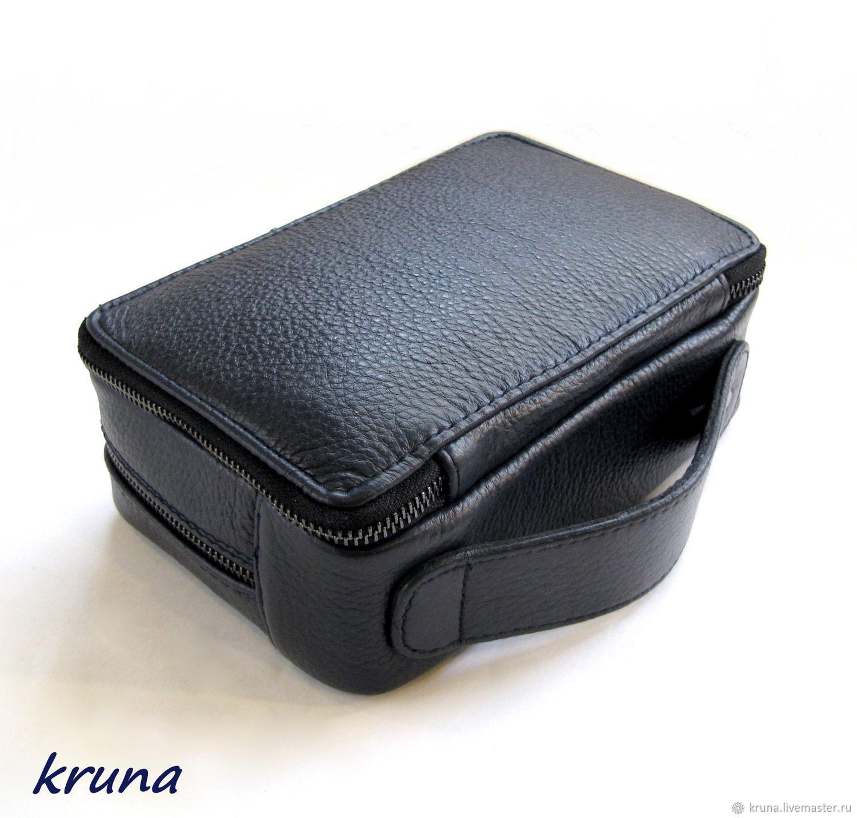 b5e38e2ec0bc Мужская сумка-барсетка для документов с тиснением