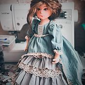 Будуарная кукла ручной работы. Ярмарка Мастеров - ручная работа Мария. Текстильная кукла. Handmade.