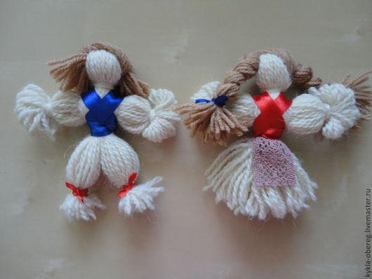 Народные куклы ручной работы. Ярмарка Мастеров - ручная работа. Купить Кукла-оберег. Handmade. Бежевый, ленточки, кукла в подарок