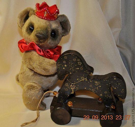 """Мишки Тедди ручной работы. Ярмарка Мастеров - ручная работа. Купить Мишка """"Ричард"""". Handmade. Плюшевая игрушка, мишка тедди"""