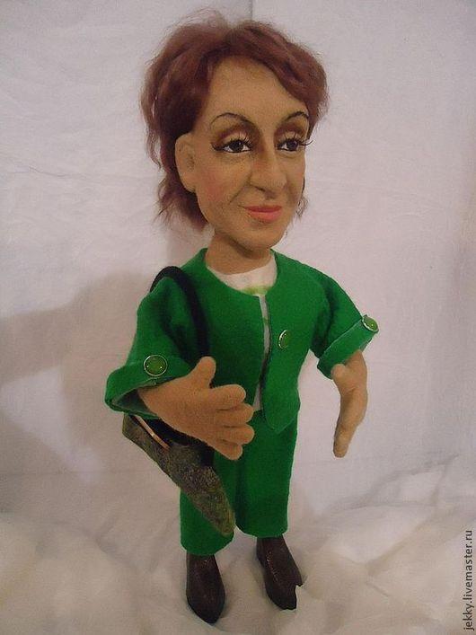 Портретные куклы ручной работы. Ярмарка Мастеров - ручная работа. Купить Портретная кукла на заказ по фото - Финансовый директор. Handmade.