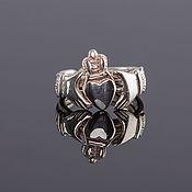 Кольца ручной работы. Ярмарка Мастеров - ручная работа Серебряное кольцо для влюбленных от Wickerring. Handmade.