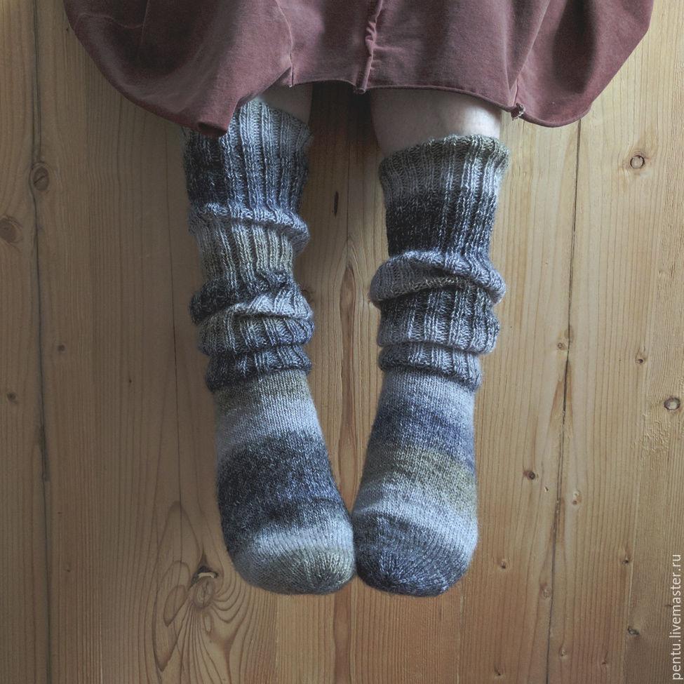 Носки вязаные высокие Cozy, Носки, Москва,  Фото №1