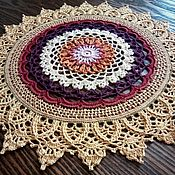 handmade. Livemaster - original item Doily crocheted
