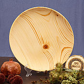 Посуда handmade. Livemaster - original item A plate of Fir 25#61. Handmade.