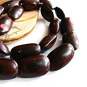 Материалы для творчества handmade. Livemaster - original item Beads the Seeds of the tree Ipil 20h12mm. Handmade.