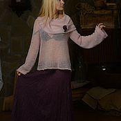 """Одежда ручной работы. Ярмарка Мастеров - ручная работа Юбка со свитерком"""" Розовый туман"""". Handmade."""