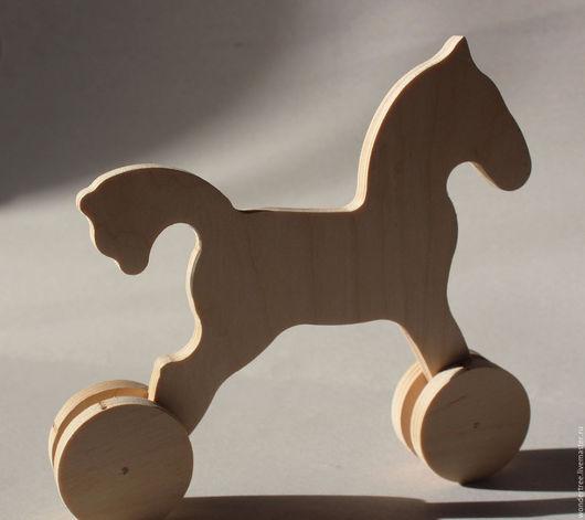 Игрушки животные, ручной работы. Ярмарка Мастеров - ручная работа. Купить Лошадка-качалка (лошадка-каталка). Handmade. Бежевый, лошадь