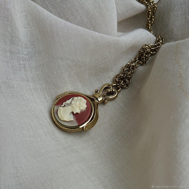 "Винтаж: Колье 1928 Jewelry ""Секрет камеи"", Колье винтажные, Москва,  Фото №1"