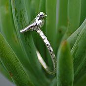 Украшения handmade. Livemaster - original item Ring with bird. Handmade.