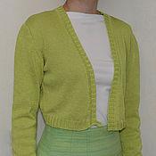 Одежда ручной работы. Ярмарка Мастеров - ручная работа Болеро вязаное. Handmade.