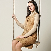 """Одежда ручной работы. Ярмарка Мастеров - ручная работа платье-сарафан  """"Букле"""". Handmade."""