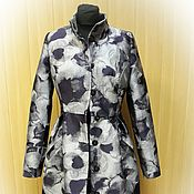 Одежда handmade. Livemaster - original item Coat jacquard insulated. Handmade.