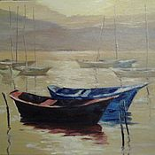 Картины и панно handmade. Livemaster - original item Painting: oil on canvas for fun. Handmade.