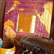 """Для дома и интерьера ручной работы. Ярмарка Мастеров - ручная работа Зеркало """"На шабаш!"""". Handmade."""