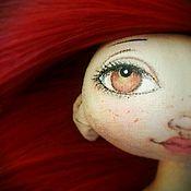 """Куклы и игрушки ручной работы. Ярмарка Мастеров - ручная работа Кукла текстильная ручной работы """"Рябинка"""". Handmade."""