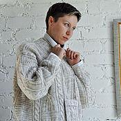 Одежда ручной работы. Ярмарка Мастеров - ручная работа Вязаный женский свитер «Теплое настроение» Авторская ручная работа. Handmade.