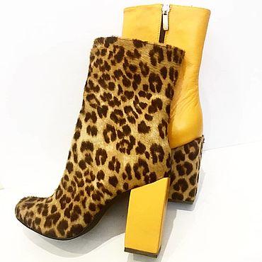 Обувь ручной работы. Ярмарка Мастеров - ручная работа Ботинки Микс.. Handmade.