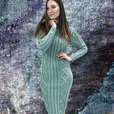 Clothing handmade. Livemaster - original item Knitted dress - any color and size. Handmade.