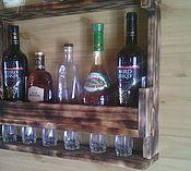 Для дома и интерьера ручной работы. Ярмарка Мастеров - ручная работа Полка для напитков. Handmade.